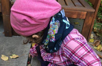 Un projet de couture facile : un bonnet pour bébé slouchy beanie.