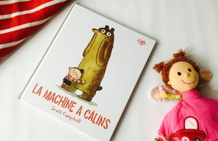 Un livre adorable pour les petites machines à câlins