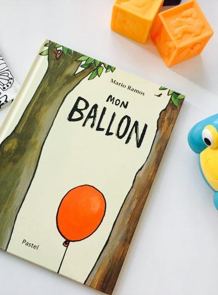 L'album jeunesse «Mon ballon» : un petit bijou