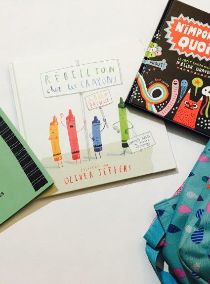 Mes 5 livres jeunesse préférés pour la rentrée scolaire