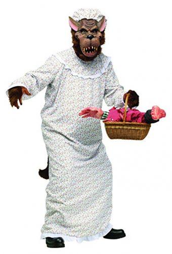 halloween costume deguisement chaperon rouge loup 5