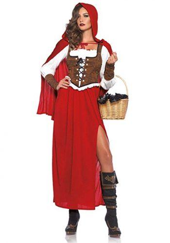 halloween costume deguisement chaperon rouge loup 7