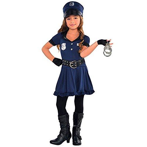 halloween costume deguisement enfant adulte policier 1
