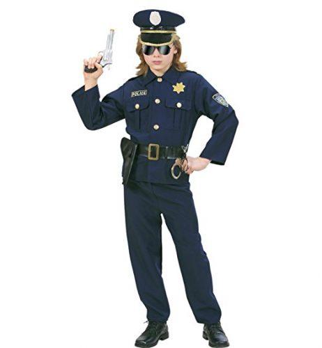 halloween costume deguisement enfant adulte policier 3