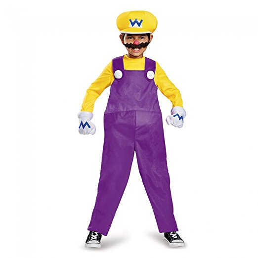 halloween costume deguisement mario bros luigi 5