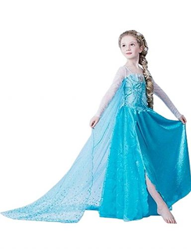 halloween costume deguisement princesse frozen 2