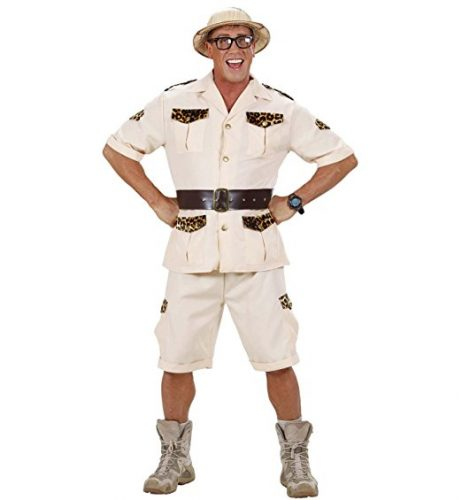 halloween costume deguisement safari jurassic park 4