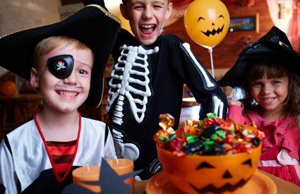 Les bonbons d'Halloween: un peu, beaucoup ou pas du tout?