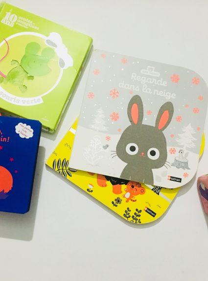 3 collections de livres tout doux pour bébé