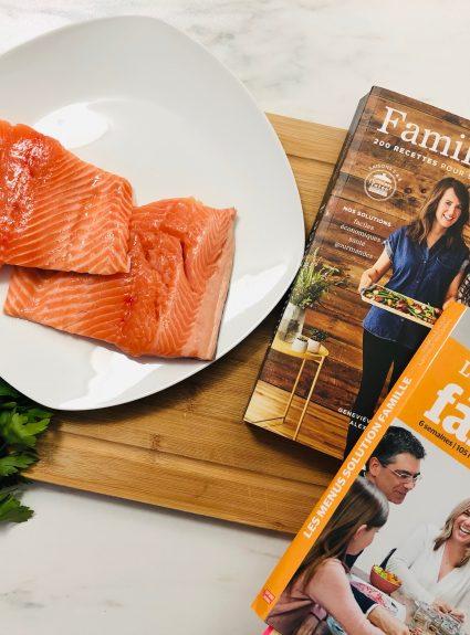 Meilleures recettes rapides pour la famille : saumon et truite