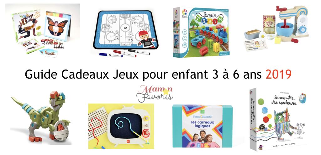 Le Guide Cadeaux Jeux Pour Enfant 3 6 Ans 2019 Maman Favoris