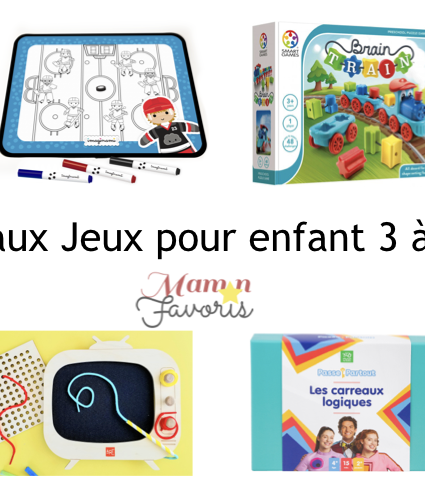 «LE» Guide cadeaux jeux pour enfant 3-6 ans 2019