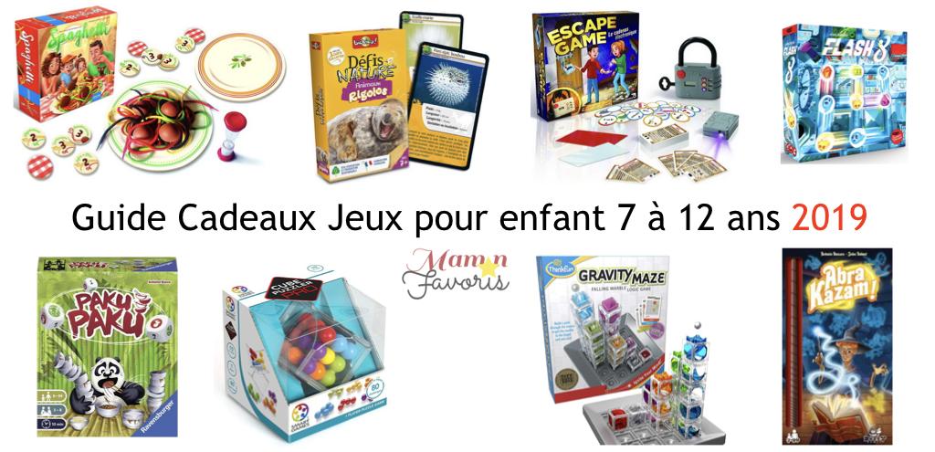 Le Guide Cadeaux Jeux Pour Enfant 7 12 Ans 2019 Maman Favoris