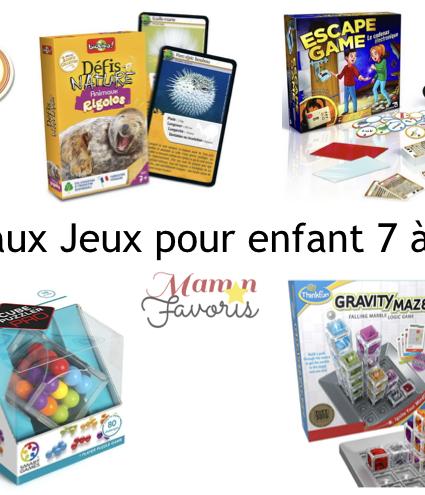 «LE» Guide cadeaux jeux pour enfants 7-12 ans 2019