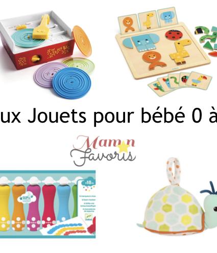 «LE» Guide cadeaux jouets pour bébé 0-2 ans 2019