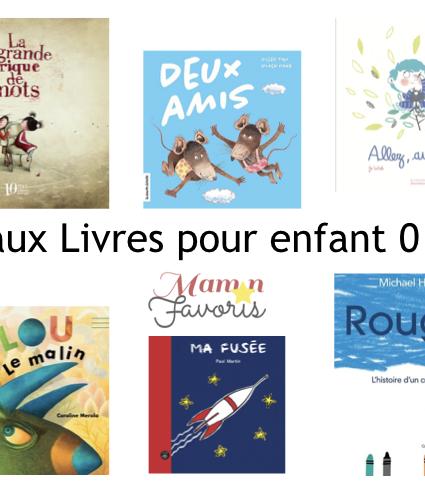 «LE» Guide cadeaux livres pour enfants de 0 à 8 ans 2019