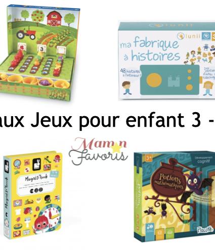 «LE» Guide cadeaux jeux pour enfant 3-4 ans 2020