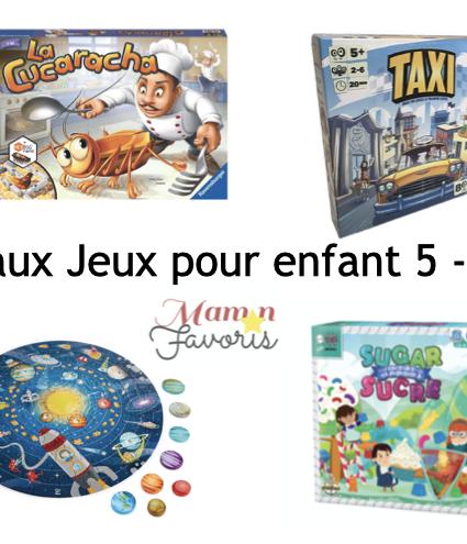«LE» Guide cadeaux jeux pour enfant 5-6 ans 2020